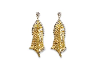 Did You Say Get Your Freak On? Earrings in Gold
