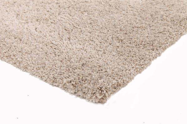 Thick Soft Polar Shag Rug - Light Beige 170x120cm
