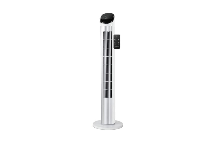 Kambrook 87cm Touch Display Tower Fan (KTF840WHT)