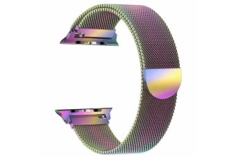 [Apple watch Series 5 4 3 2 1 Milanese Magnetic Stainless Loop Strap Band 38mm/40mm iwatch Colourful