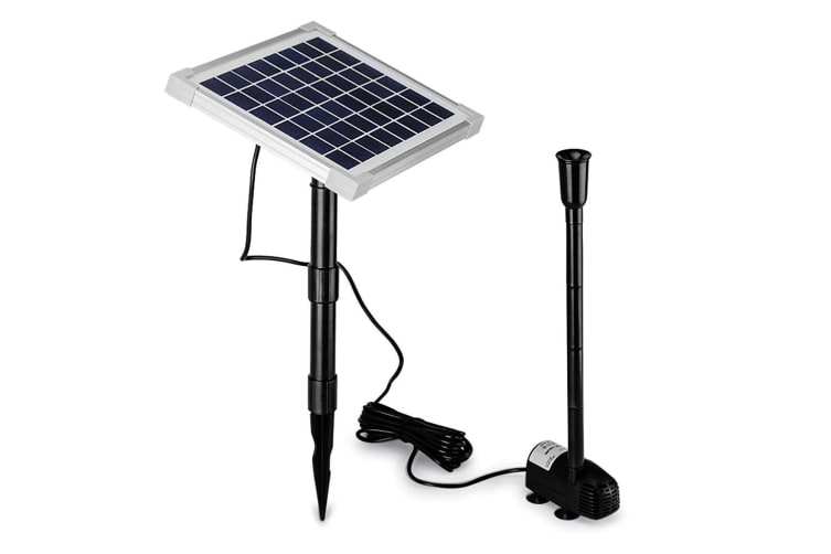 Protege 20W Solar Fountain Submersible Water Pump Power Panel Kit Garden Pond