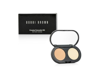 Bobbi Brown New Creamy Concealer Kit - Cool Sand Creamy Concealer + Pale Yellow Sheer Finish Pressed Powder 3.1g