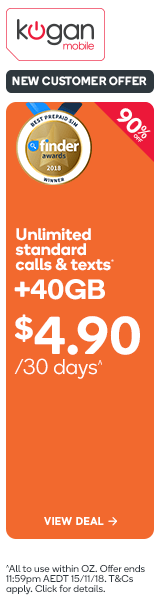 Kogan Mobile - $4.90 for XL 30 Day Plans