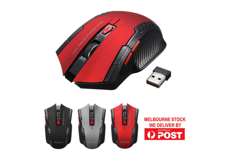 2.4GHz 6D 2000DPI Wireless USB Optical Gaming Mouse Mice For PC Laptop Desktop