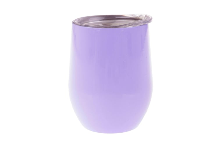 Oasis Double Wall Insulated Wine Tumblers 330ml - Lilac
