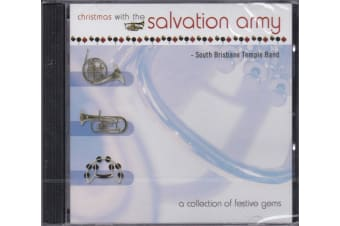 SOUTH BRISBANE TEMPLE BAND -CHRISTMAS WITH SALVATION ARMY MUSIC CD NEW SEALED