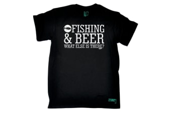 Drowning Worms Fishing Tee - And Beer What Else Is There Mens T-Shirt