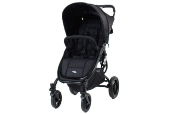 Valco Baby Snap 4 Black Pram/Stroller Foldable/Recline for Baby/Infant/Toddler