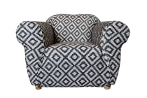 SureFit Statement Sofa Chair Cover - Tribal