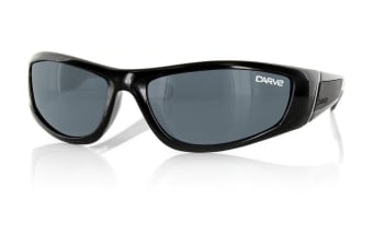 Carve Cyclone Black Polarized Mens Sunglasses
