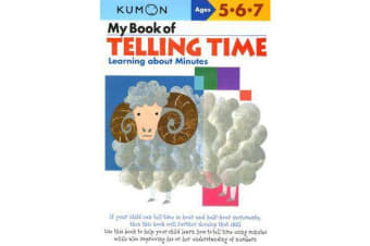 My Book of Telling Time - Learning About Minutes