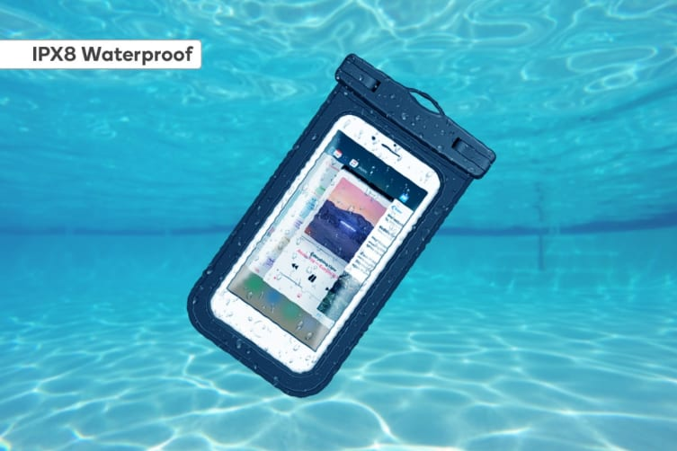 2 Pack Waterproof Phone Pouch