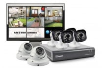 "Swann 8 Channel 720p HD DVR with 4 x PRO-T835,  2 x PRO-T836 Cameras & 15"" LCD Monitor (SWDVK-815806M)"