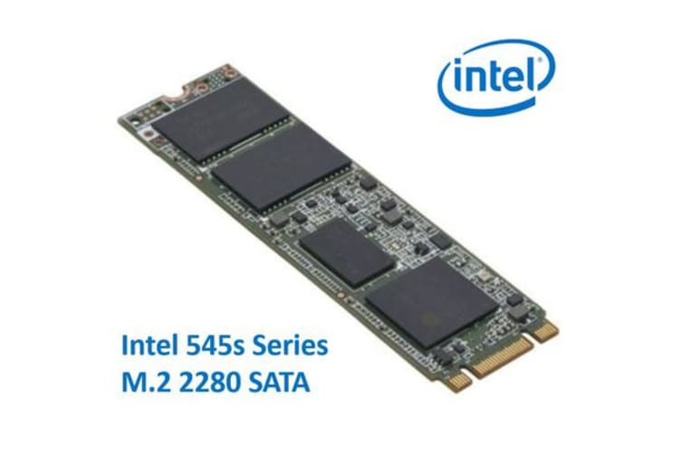 Intel 545s Series M 2 2280 256GB SSD SATA3 6Gbps 550/500MB/s TCL 3D NAND  75K/85K IOPS 1 6 Million Hours MTBF SFF Solid State Drive 5yrs Wty