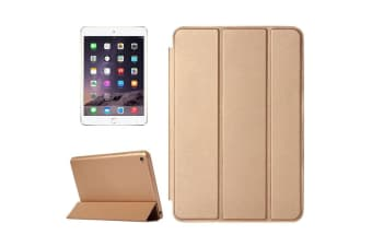 For iPad Mini 4 Case Smart High-Quality Durable Shielding Cover Gold