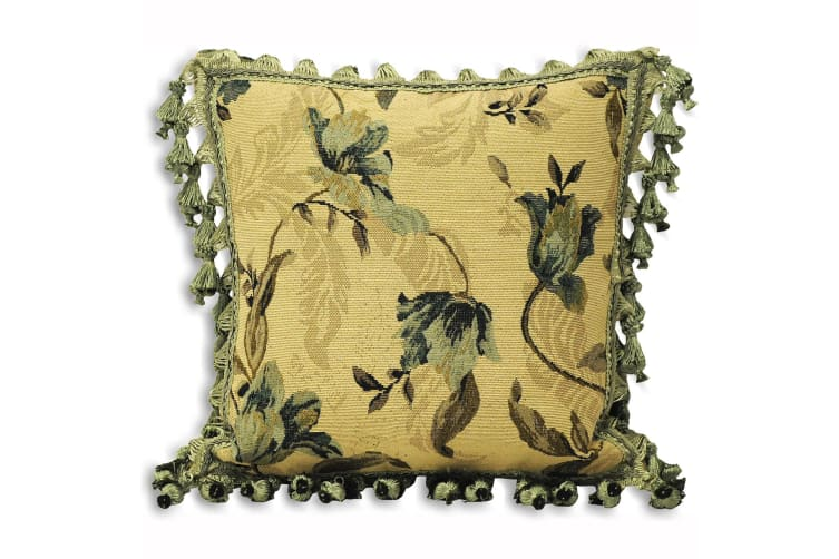 Riva Home Garda Cushion Cover (Green) (58x58cm)