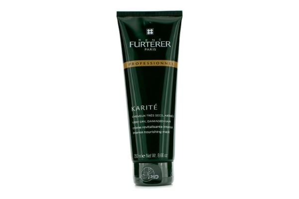 Rene Furterer Karite Intense Nourishing Mask - For Very Dry, Damaged Hair (Salon Product - Tube) (250ml/8.66oz)
