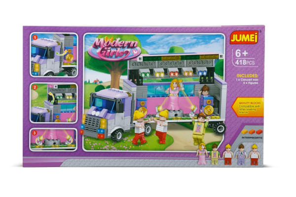 Jumei Building Blocks - Modern Girl (Lego Compatible)