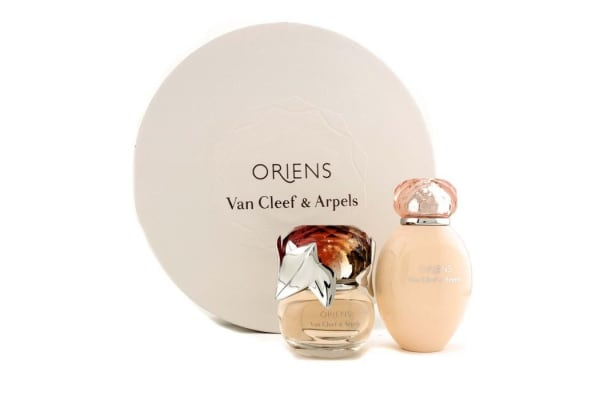 Van Cleef & Arpels Oriens Coffret: Eau De Parfum Spray 50ml/1.7oz + Body Lotion 150ml/5oz (Round Box) (2pcs)