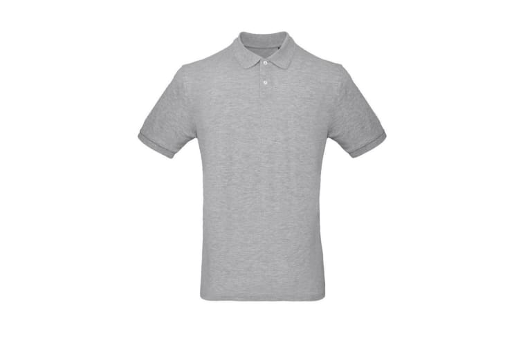 B&C Mens Inspire Polo (Taupe Grey) (S)