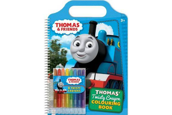 Thomas and Friends - Thomas' Twisty Crayon Colouring Book