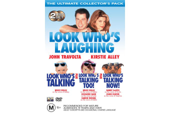 Look Whos Talking / Look Whos Talking Too / Look Whos Talking Now DVD Region 4