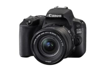 New Canon EOS 200D 24.2MP Kit (18-55mm) Digital Camera Black (FREE DELIVERY + 1 YEAR AU WARRANTY)