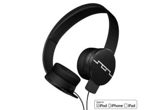 Sol Republic Tracks HD2 High Definition Headphones Headset Mic for iPhone Black