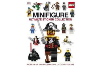 Ultimate Sticker Collection - Lego Minifigure