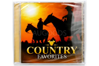 Country Favorites BRAND NEW SEALED MUSIC ALBUM CD - AU STOCK