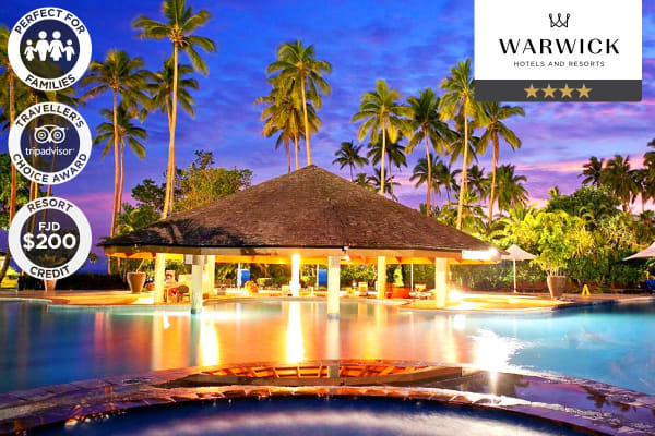 FIJI: 7 Nights at the Naviti Resort Fiji, Coral Coast