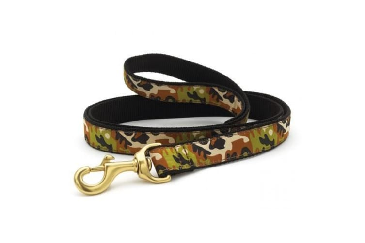 Up Country Camo Lead (Green) (2.5cm x 1.2m)