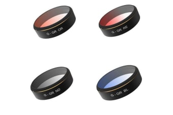 PGY Tech Phantom 4 Pro/Adv Gradient Filters 4-pack+Case