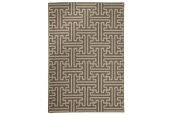 Seville Geo Natural Outdoor Rug 160X110cm
