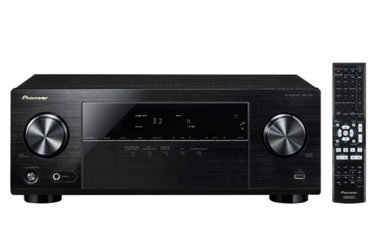 Pioneer 105W 5.1 Channel AV Receiver with Ultra HD 4K Pass Through (VSX330)