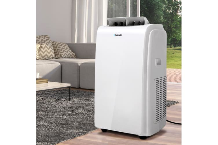 Devanti Portable Air Conditioner Reverse Cycle Fan Cooler Dehumidifier 22000BTU