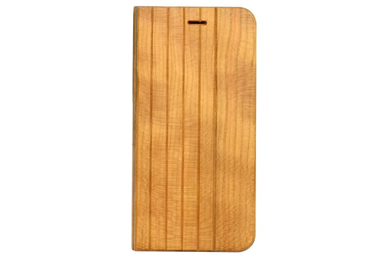 For iPhone 8 PLUS 7 PLUS Case Cherry Planks Durable Wooden Protective Cover