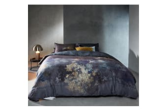 Metamorphose Blue Quilt Cover Set Queen by Bedding House