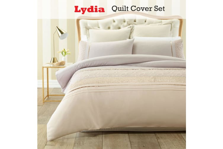 Lydia Quilt Cover Set QUEEN by Phase 2