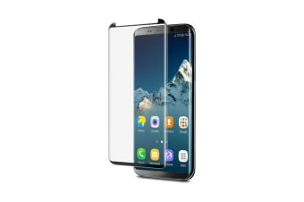 EFM Curved Edge Glass Screen Armour for Samsung Galaxy S8+ plus Scratch Proof