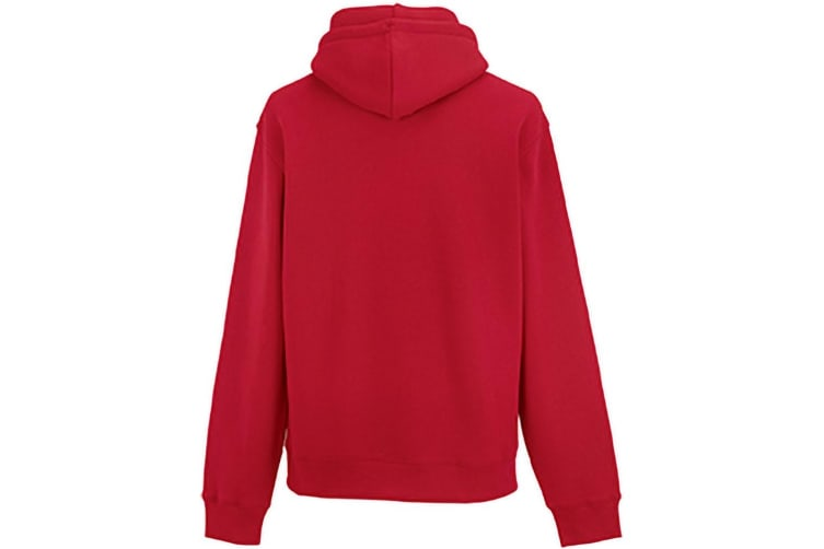 Russell Mens Authentic Hooded Sweatshirt / Hoodie (Classic Red) (3XL)