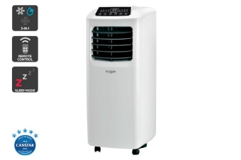 Kogan 2.9kW Portable Air Conditioner (10,000 BTU, White)