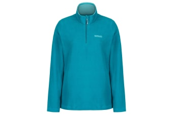 Regatta Great Outdoors Womens/Ladies Sweetheart 1/4 Zip Fleece Top (Deep Lake) (24)
