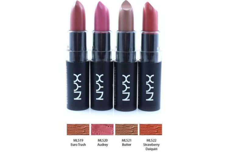 nyx matte lipstick pure red review