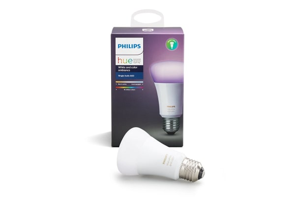 Philips Hue White and Colour Ambiance Single Bulb E27