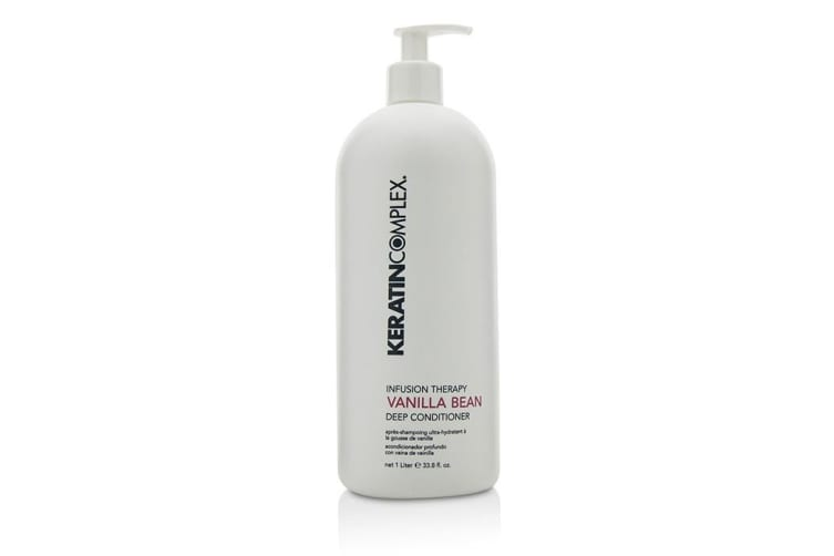 Keratin Complex Infusion Therapy Vanilla Bean Deep Conditioner (For All Hair Types) 1000ml/33.8oz