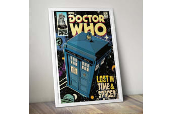 Doctor Who Lost In Time & Space TARDIS Wall Poster 61 x 91cm - BBC Comic Retro Wall Art