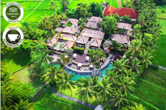 UBUD: 2 or 5 Nights Stay at The Ubud Village Resort & Spa for Two