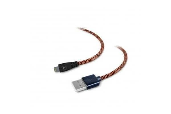 TOUGH TESTED Braided Fabric Lightning Cable