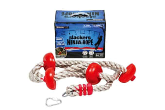 Slackers Ninja Climbing Rope 8-Inch with Foot Holds